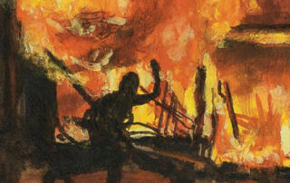 Burning - Exhibition at Gallery Pamme-Vogelsang